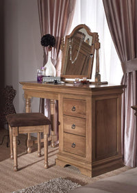 Normandy Farmhouse  Dresser Stool - Oak Village