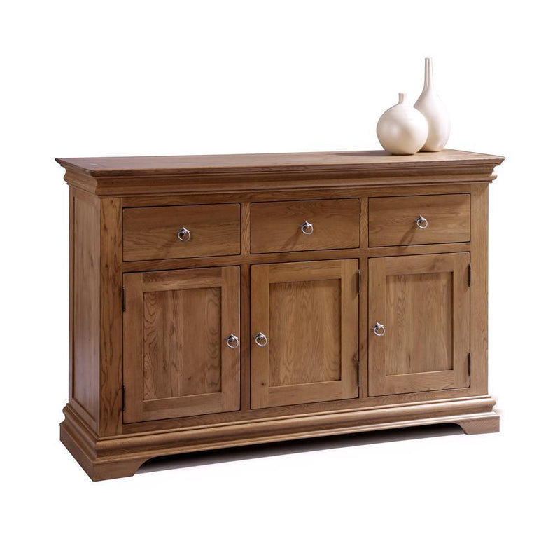 Normandy Farmhouse Large Sideboard - Oak Village