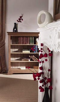 Normandy Farmhouse Low Bookshelf - Oak Village