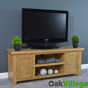 Oakley Large Plasma TV unit - Oak Village