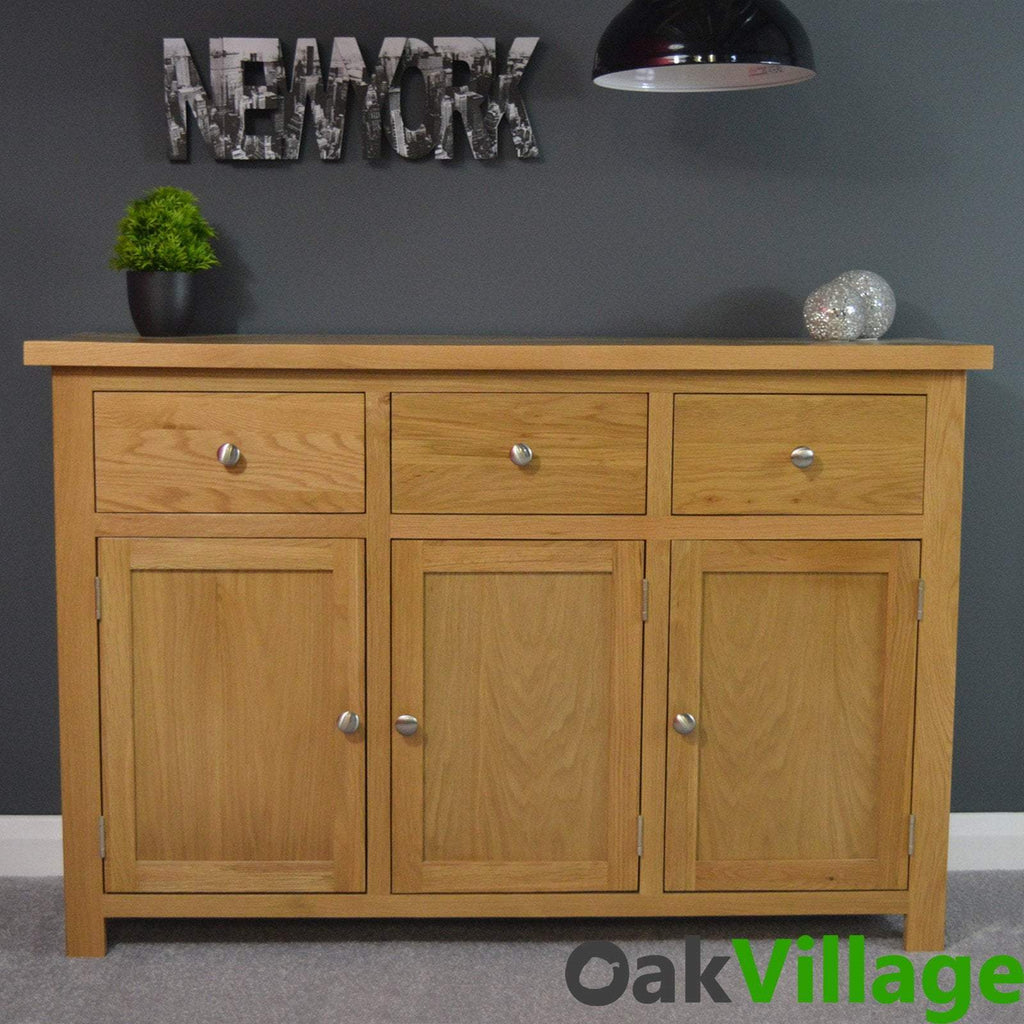 Oakley Large Sideboard - Oak Village