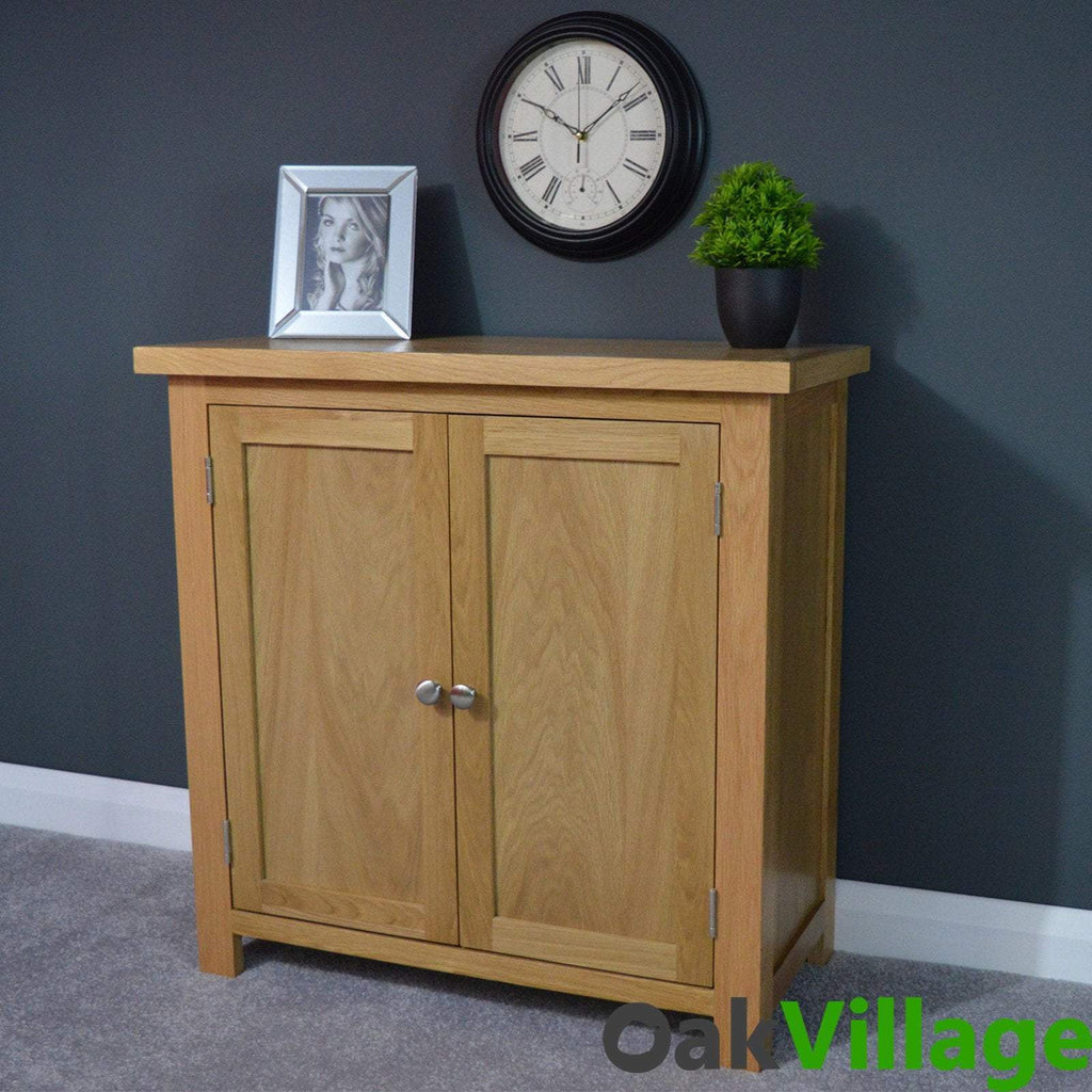 Oakley Linen / Hall Cupboard - Oak Village