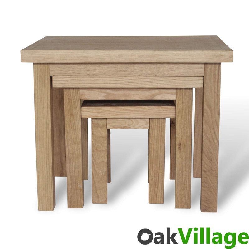 Oakley Nest Of Tables - Oak Village