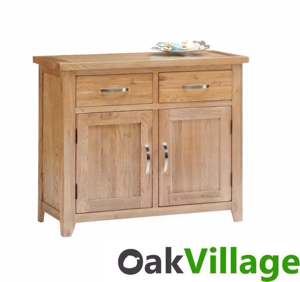 Oakworth Natural Oak Small Sideboard - Oak Village