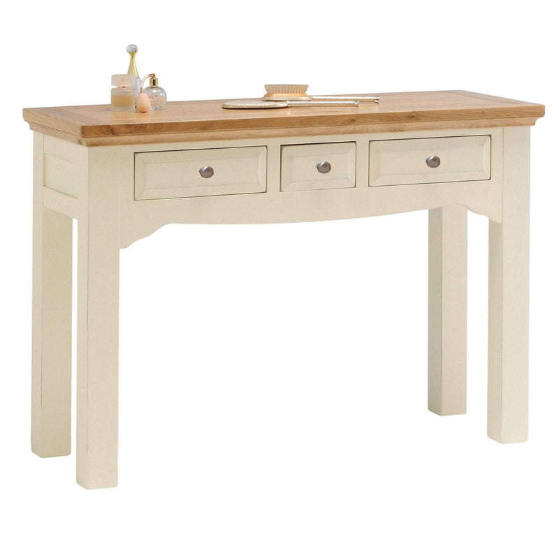 Rosehill Painted Oak Dressing Table - Oak Village