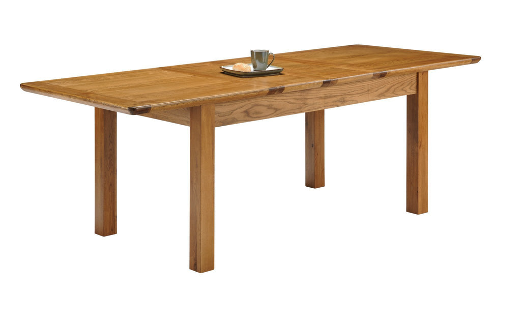 Toulouse Oak Large Farmhouse Extending Table - Oak Village