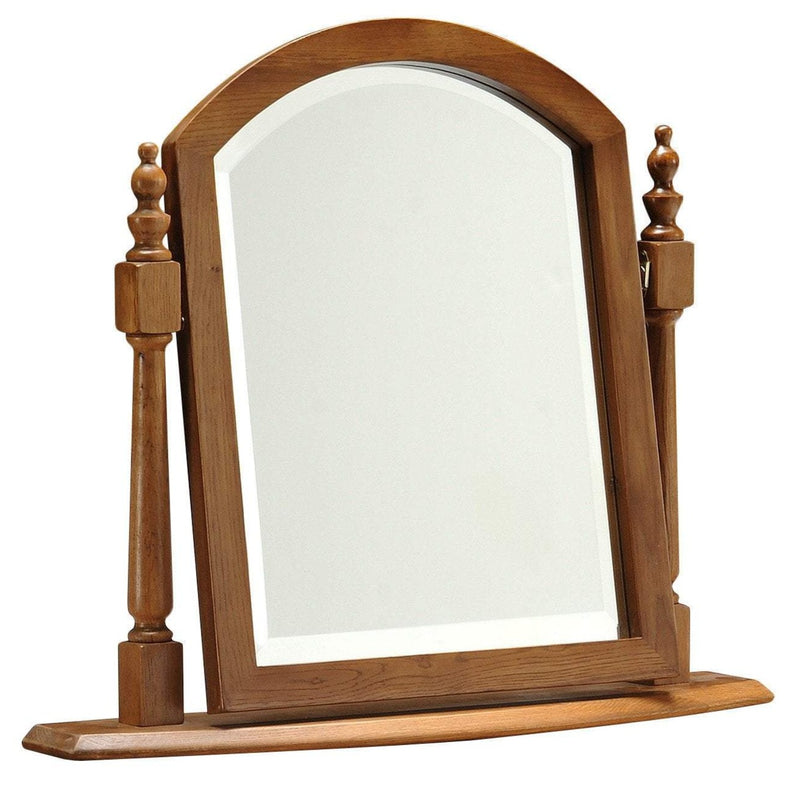 Toulouse Oak Swing Mirror - Oak Village