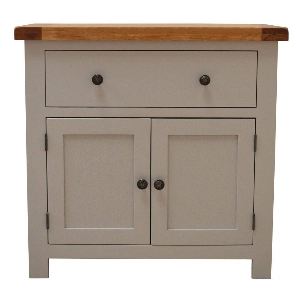 Tuscan Grey Painted Mini Side Board - Oak Village