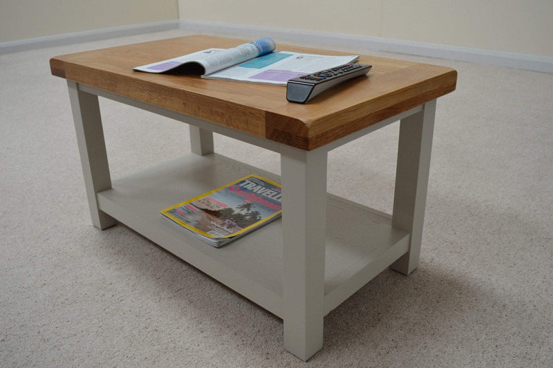 Tuscan Painted Coffee Table - Oak Village