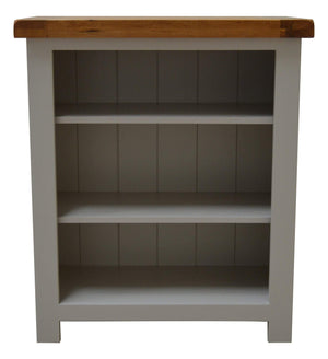 Tuscan Painted - Small Oak Bookcase - Oak Village