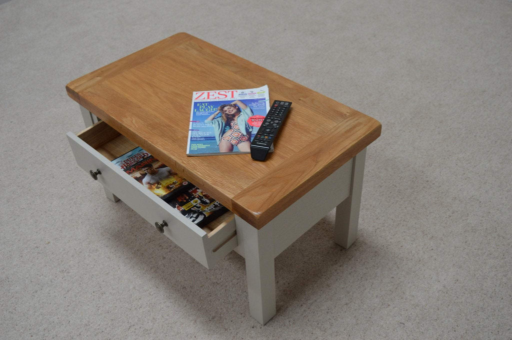 Tuscan Painted Storage Coffee Table - Oak Village