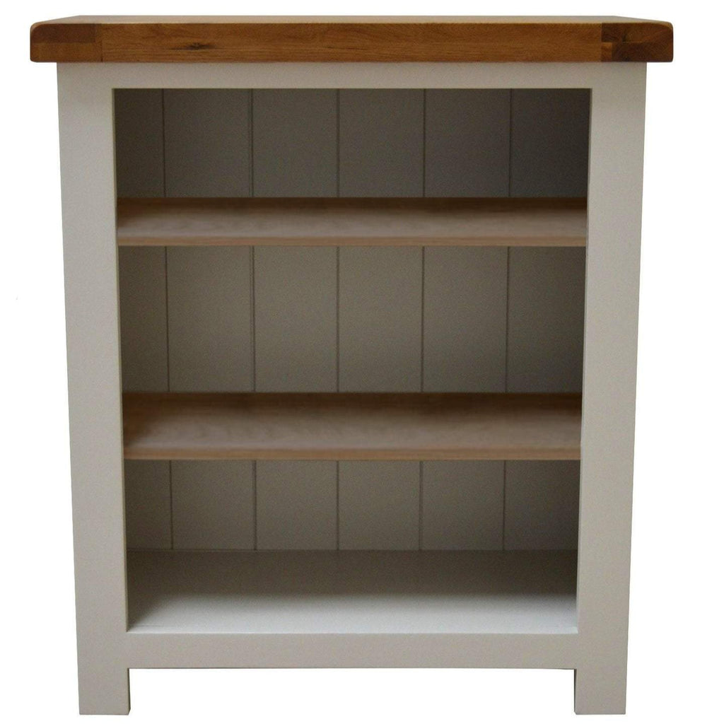 Walcot Painted Low / Small Bookcase - Oak Village