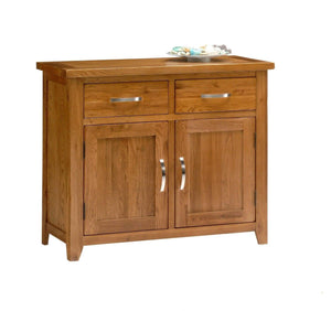 Wessex Country Oak Small Sideboard - Oak Village