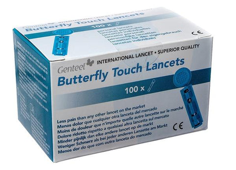 Image of Genteel® Butterfly Touch Lancets