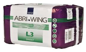 Belted incontinence pads Abri Wing