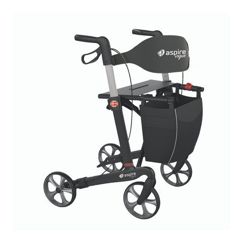Image of Vogue carbon fibre seat walker