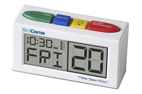 MedCenter Talking Alarm Clock