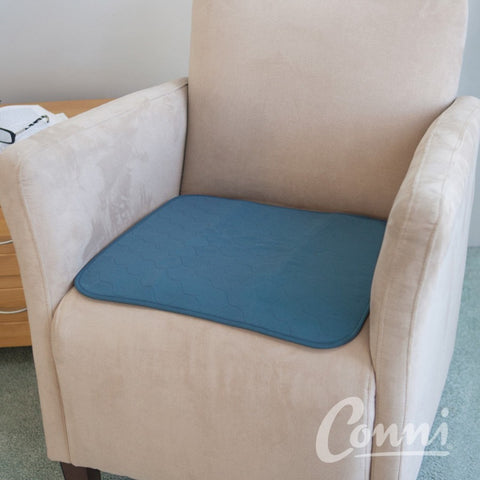Conni Chair Protector Pad- small- 48x48cm - Teal Blue