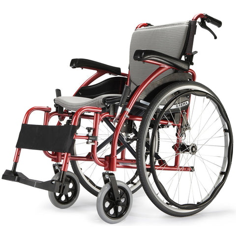 Image of Light weight and foldable Self Propelled Wheelchair