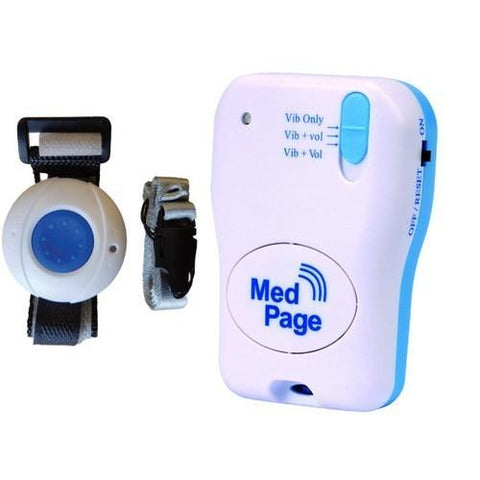 MedPage Splash Proof Call Pendant with Vibrating Pager