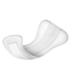 Shaped incontinence pads Abri Light
