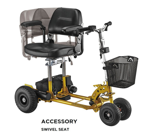 Supascoota Heavy Duty portable mobility scooter