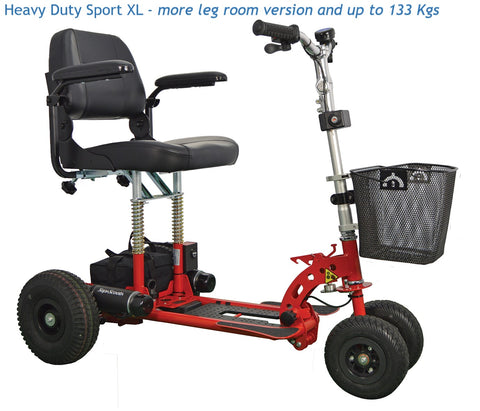 Supascoota Heavy Duty Sport portable mobility scooter