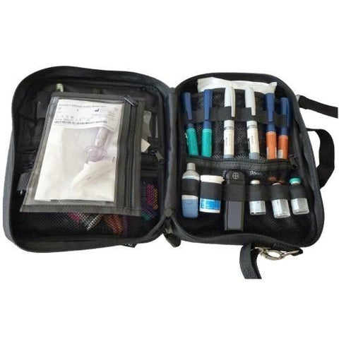 ChillMED Premier Diabetes Travel Organizer with 24 oz Gel Pack