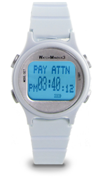 WatchMinder 3 white vibrating watch reminder system
