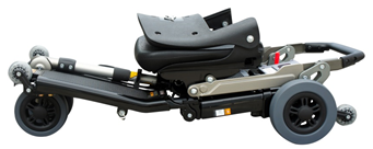Image of Luggie portable foldable transportable mobility scooter