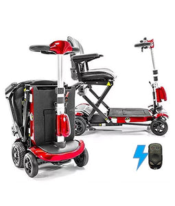 Genie quickfold portable mobility scooter
