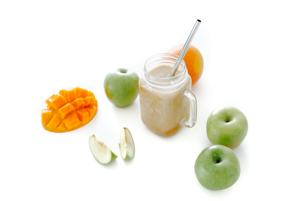 Apple, Mango & Turmeric Super Smoothies