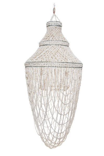 Shell Chandelier - Large Tiered Dome
