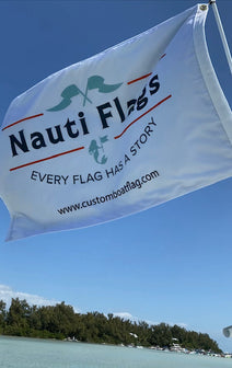 Nauti Flags Custom Boat Flag