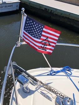 USA Korean Custom Boat Flag - Totally Unique Boat Flag
