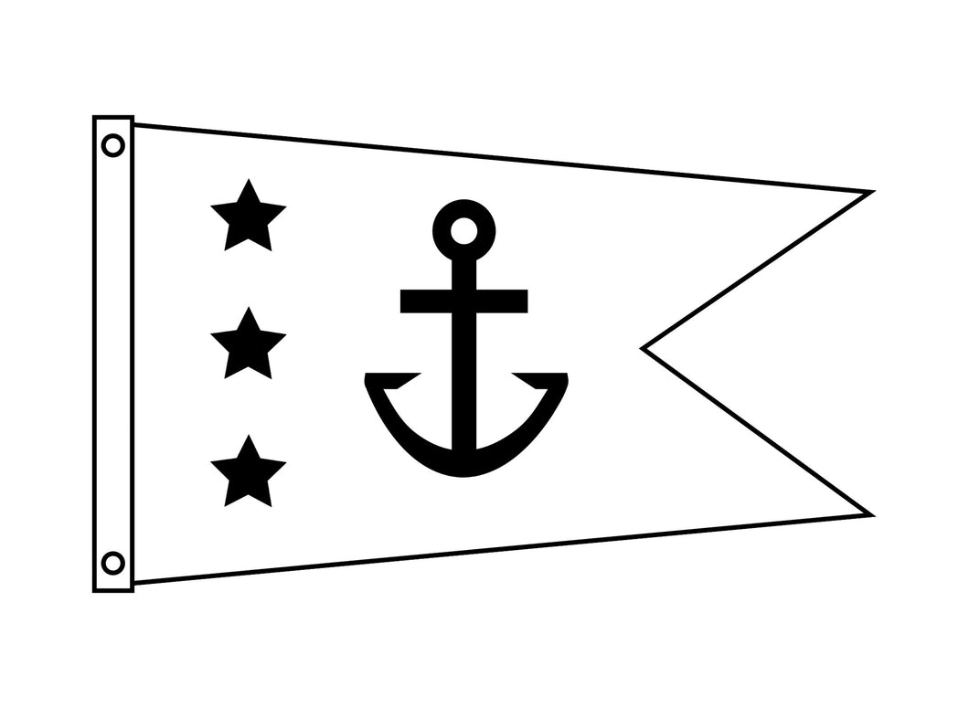 Tapered Burgee (12x18)