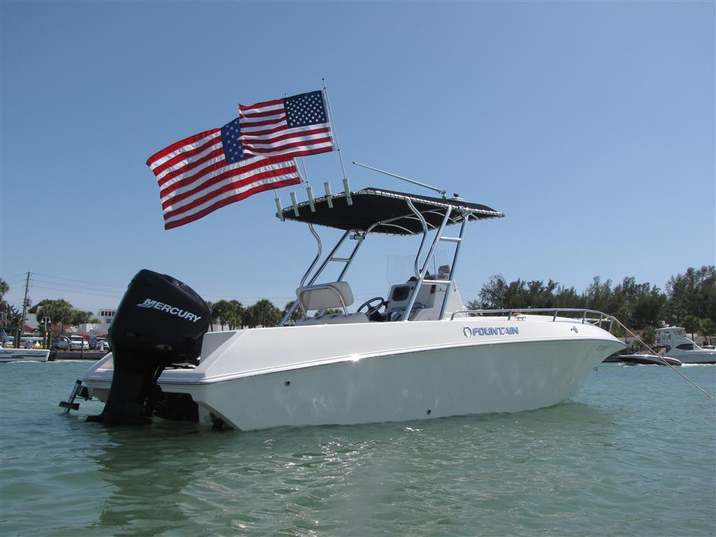 Rod Gunnel Boat Flag Poles