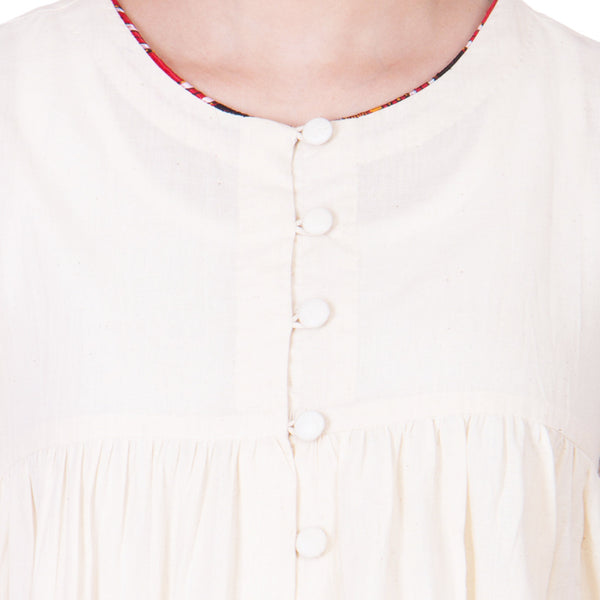 Ecru Cotton Top