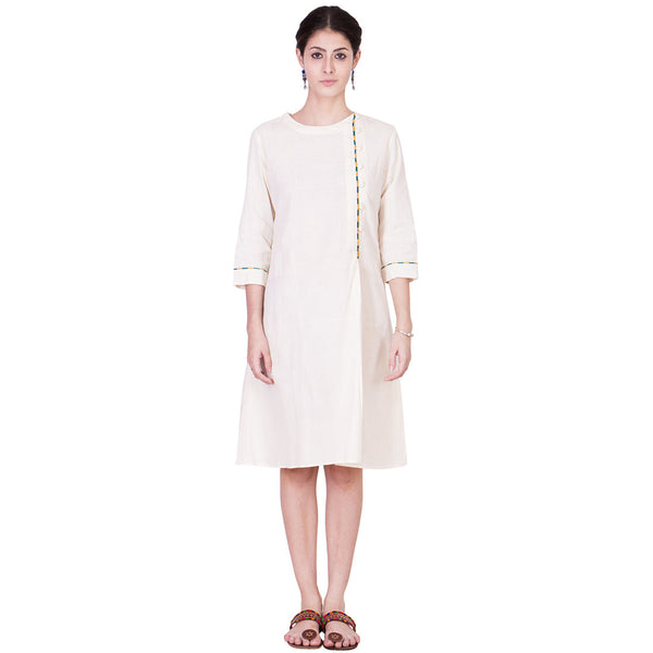 Muslin Cotton Dress by ans by astha & sidharth
