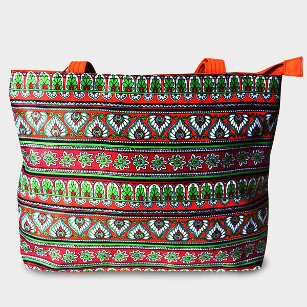 Border Bag by Noorani Biswas