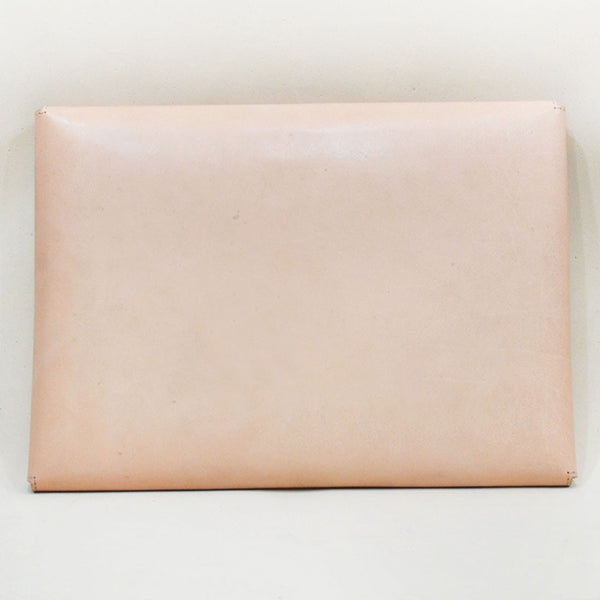 Leather Minimal Carrier Pink Laptop Sleeve