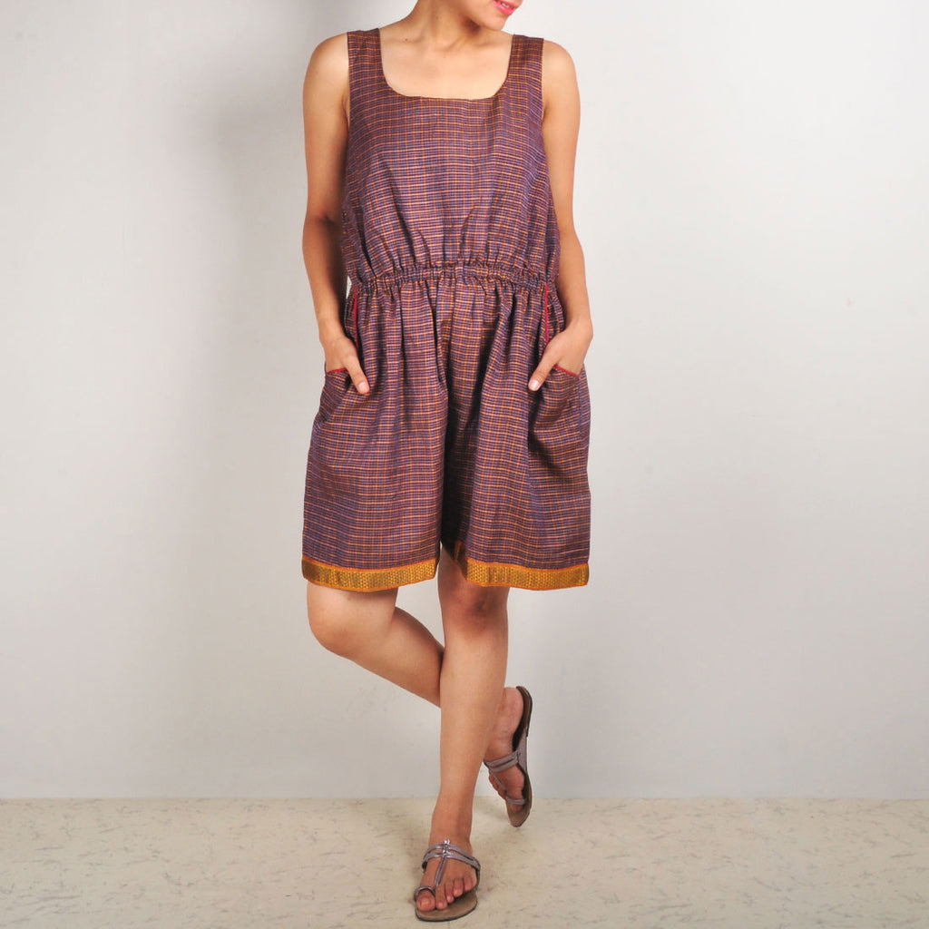 Checkered Jumpsuit by Dori
