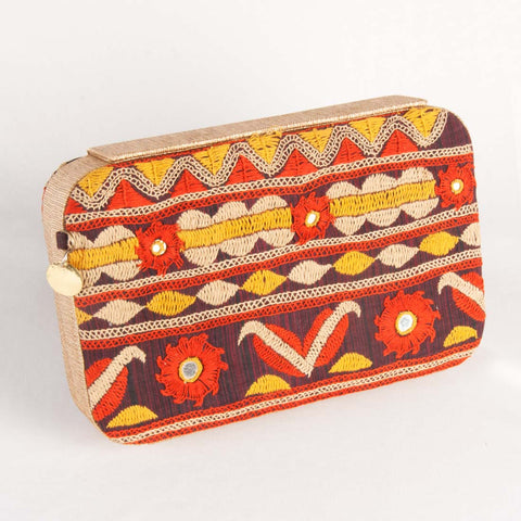 Rust Clutch by Tresor
