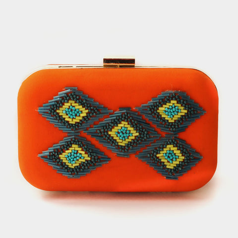 Ikat Clutch by ETRE