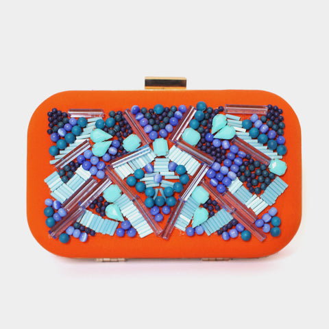 Blues Clutch by ETRE