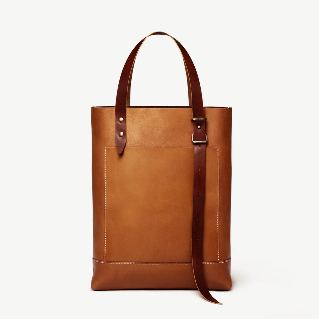 The Stirrup Tote in Leather by Grain