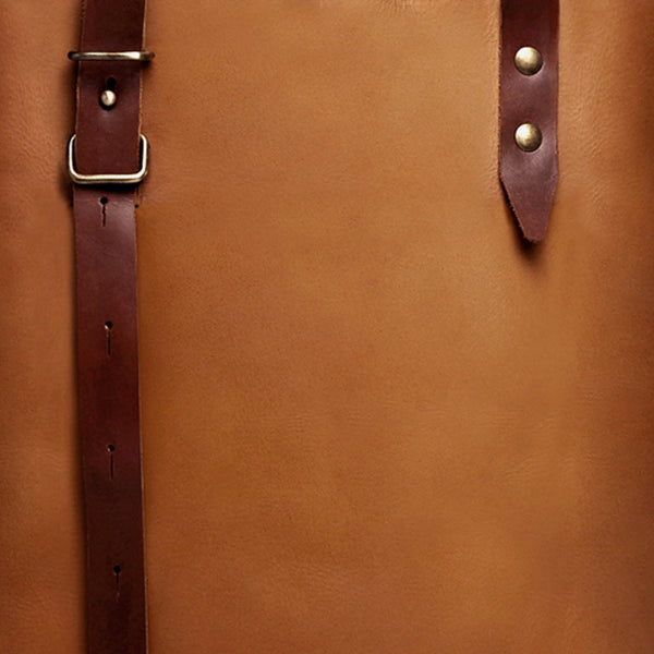 The Stirrup Tote in Leather