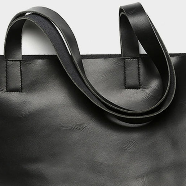 Welsh Leather Tote Bag