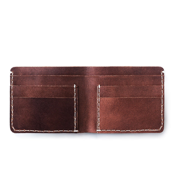 Brown Braford Wallet in Leather