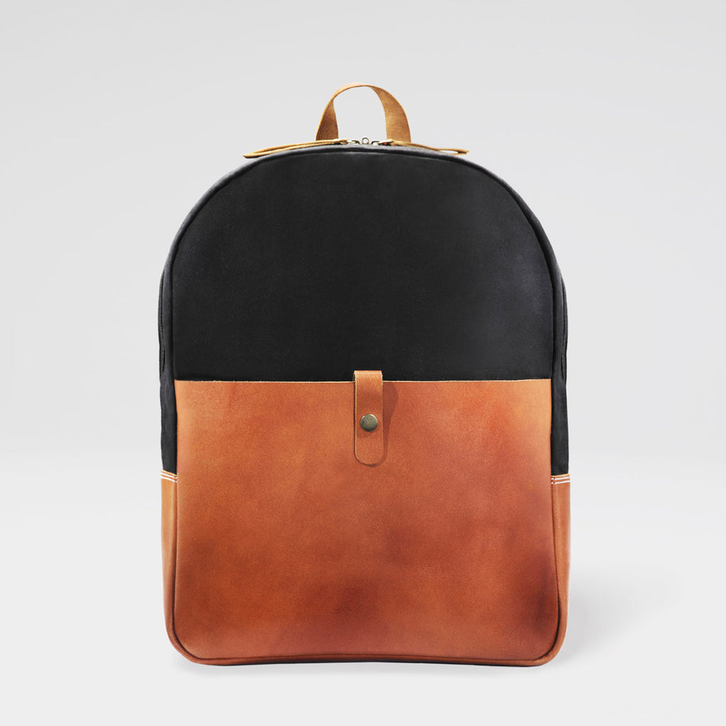 Black & Tan Country Backpack by Grain